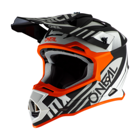 Каска O'NEAL 2SERIES SPYDE 2.0 BLACK/WHITE/ORANGE 2020