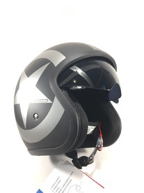 OPENED VIPER HELMET WITH GLASSES