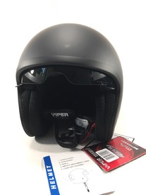 Opened VIPER helmet with sunglasses